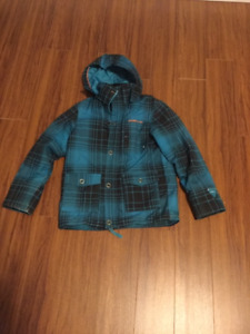 BOYS SIZE 8  JACKET WITH REMOVABLE HOODIE    O NEILL
