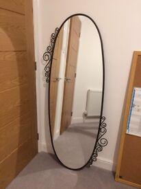 Ikea Ekne Oval Mirror