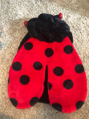 NEW Top Paw Super Soft Plush LADYBUG Halloween Dog Pet Costume MEDIUM - Ladybug Halloween Costumes For Dogs
