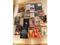 Hardback and paperback books of general interest - over 110 in all