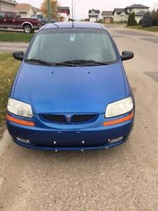 2006 Pontiac Wave blue Hatchback