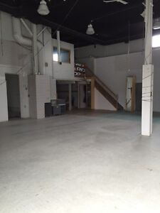 South End commercial space available immediately