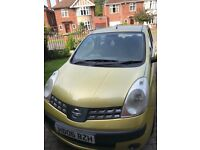 NISSAN NOTE 1.6L SE AUTOMATIC 1 YEAR MOT