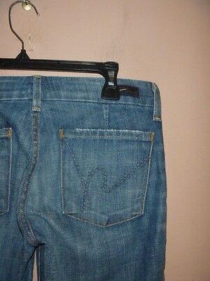 CITIZENS OF HUMANITY FAYE #003 LOW WAIST FULL LEG JEANS SIZE 26.. WOW