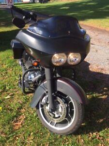 Road Glide custom black denim $19,500 OBO