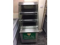 HOT FOOD DISPLAY UNIT AND OVEN FOR SALE