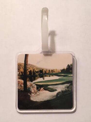 Vintage Rare Great Gorge Golf Reserve Golf Bag Tag - Hamburg, N.J. - A Beauty!