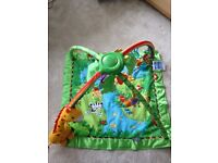 Fisher Price Rainforest Friends Play Mat Baby Gym