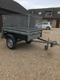 Brenderup Box Trailer with Mesh Sides - Unbraked 750kg