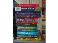 VINTAGE BOARD GAMES - BUNDLE / COLLECTION WADDINGTONS GIBSONS PARKERS