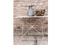 Table - French Vintage Iron Garden Table