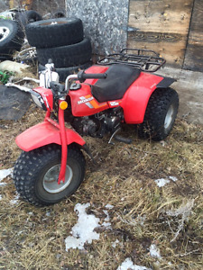 Two Honda Trikes For Sale