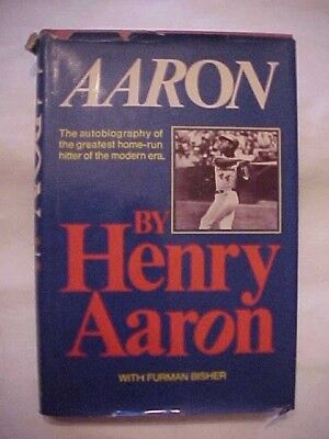 1974 Book AARON: AUTOBIOGRAPHY OF ONE OF BEST HOME-RUN HITTERS by HENRY