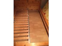 IKEA double bed frame - FREE