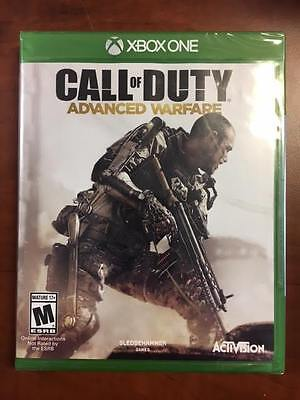 Call of Duty: Advanced Warfare (Microsoft Xbox One, 2014) NEW