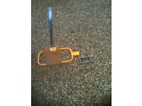 TRAILER /CARVAN HITCH AND WHEEL LOCK