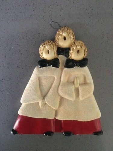 Choir Boys Christmas Ornament by Marty Sculpture