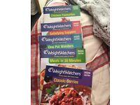 Weight watcher mini series recipe books.