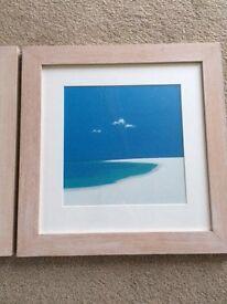 3 x framed John Miller prints
