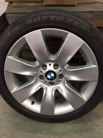 BMW 7 Series / 5 Series GT winter wheels c/w winter tyres