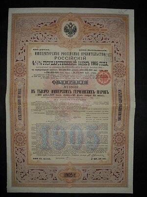 Russland: Kaiserlich Russische Regierung 1905