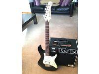 Guitar & Amp - Yamaha Pacifica 112 & Vintage 30w Lead Amp & Hard Case