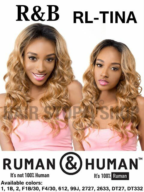 RL-TINA By R B Collection Ruman Human Lace Front Wig - $49.99