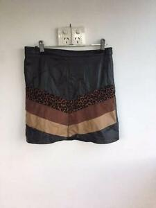 Faux leather skirt - size 8 Brisbane City Brisbane North West Preview