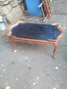 coffee table antique 60 years old