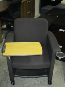 Teknion Belize-Lounge Chairs with Tablet and Cup Holder Peterborough Peterborough Area image 2