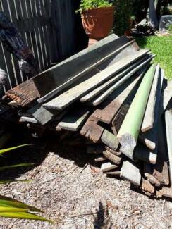 Hardwood Timber Fence Palings 1.8m + 2 gates Bray Park Pine Rivers Area Preview
