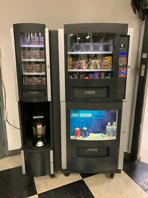 Vending Machine Cs-860 With Coffee Stationtotal Capacity 288 Items