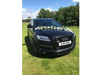 Luxury car Audi Q7 for wedding/birthday/funeral chauffeur driven for hire