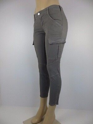 Nwt J Brand Womens Jeans  Cropped Houlihan  Skinny Cargo  Size 25  Retail  268
