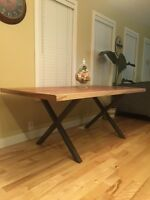 Beautiful Reclaimed Barnwood Rustic Dining Table