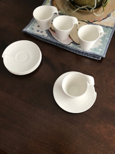 Bowring Espresso Cups and Plates Set