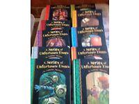 A Series of Unfortunatate Events Books