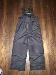 Boys Black Snow Pants