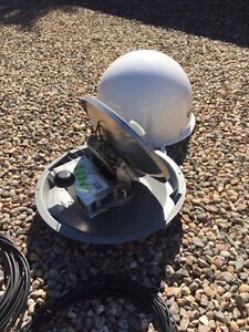 Winegard carry out portable shaw satellite tv antanna