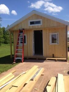 New Cottages/Bunkhouses/Sheds Custom Built & Moved to your Lot