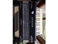 Accordion Hohner Verdi 1 - Verd II - Verdii - Black - Keys