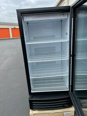 Pick-up Only Ca Idw G-10f Upright Cooler Glass Door Display Refrigerator 266l