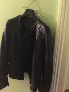 NEW Husk Womens Leather Jacket Crows Nest North Sydney Area Preview