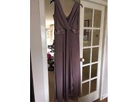 Ladies full length bridemaid/prom dress