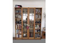 Ikea 'Billy' Bookcase Display Cabinets