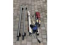Vw roof bar and bike rack