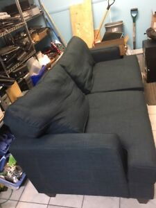 Blue couch for sale $50 obo