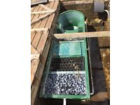Filter, pump, heater and covers for large garden pond (Koi etc),