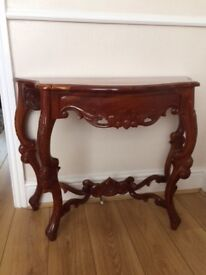 Hall console table vintage