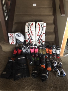 Hockey and Goalie Equipment